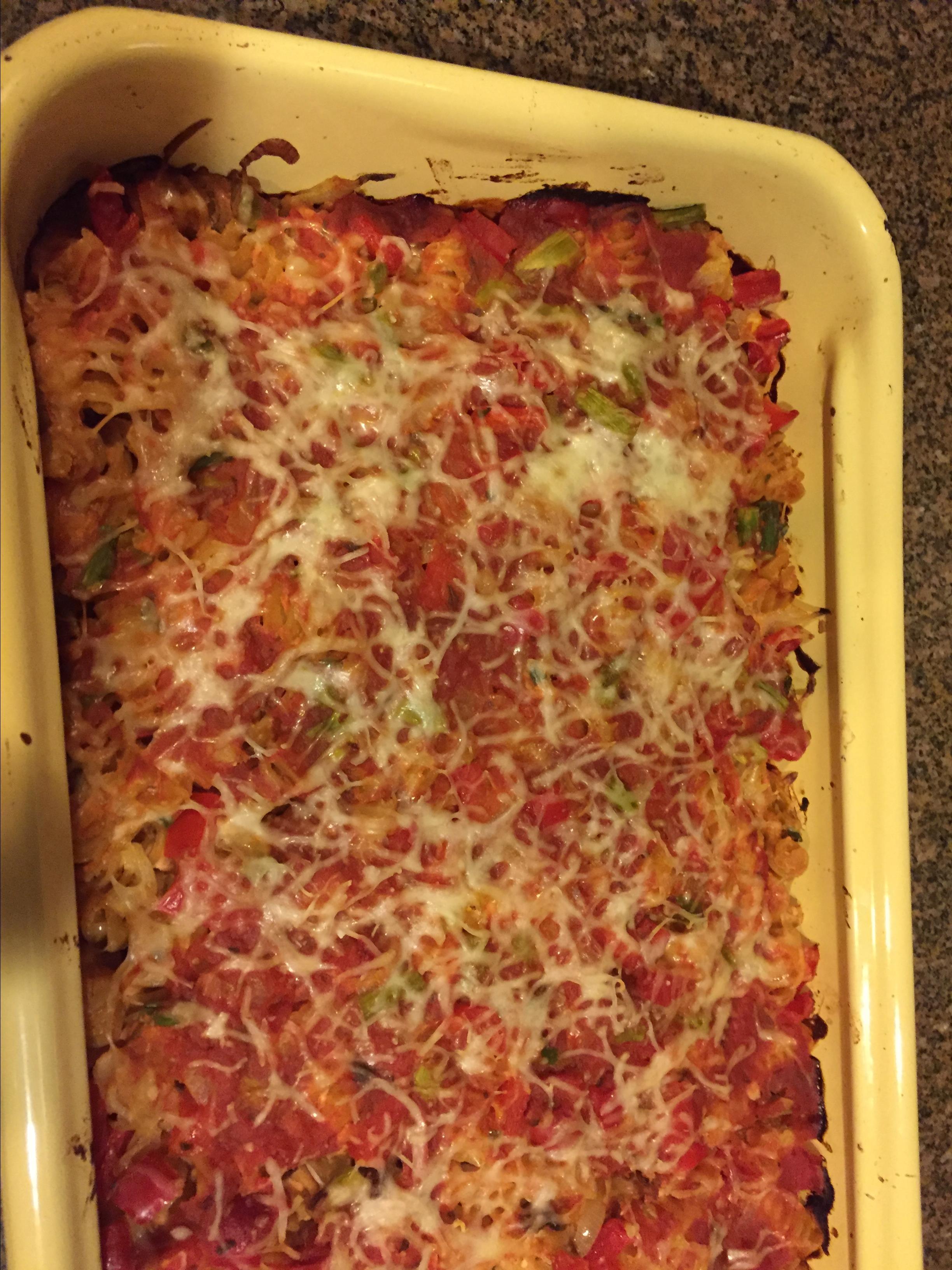 Asparagus Pasta Bake