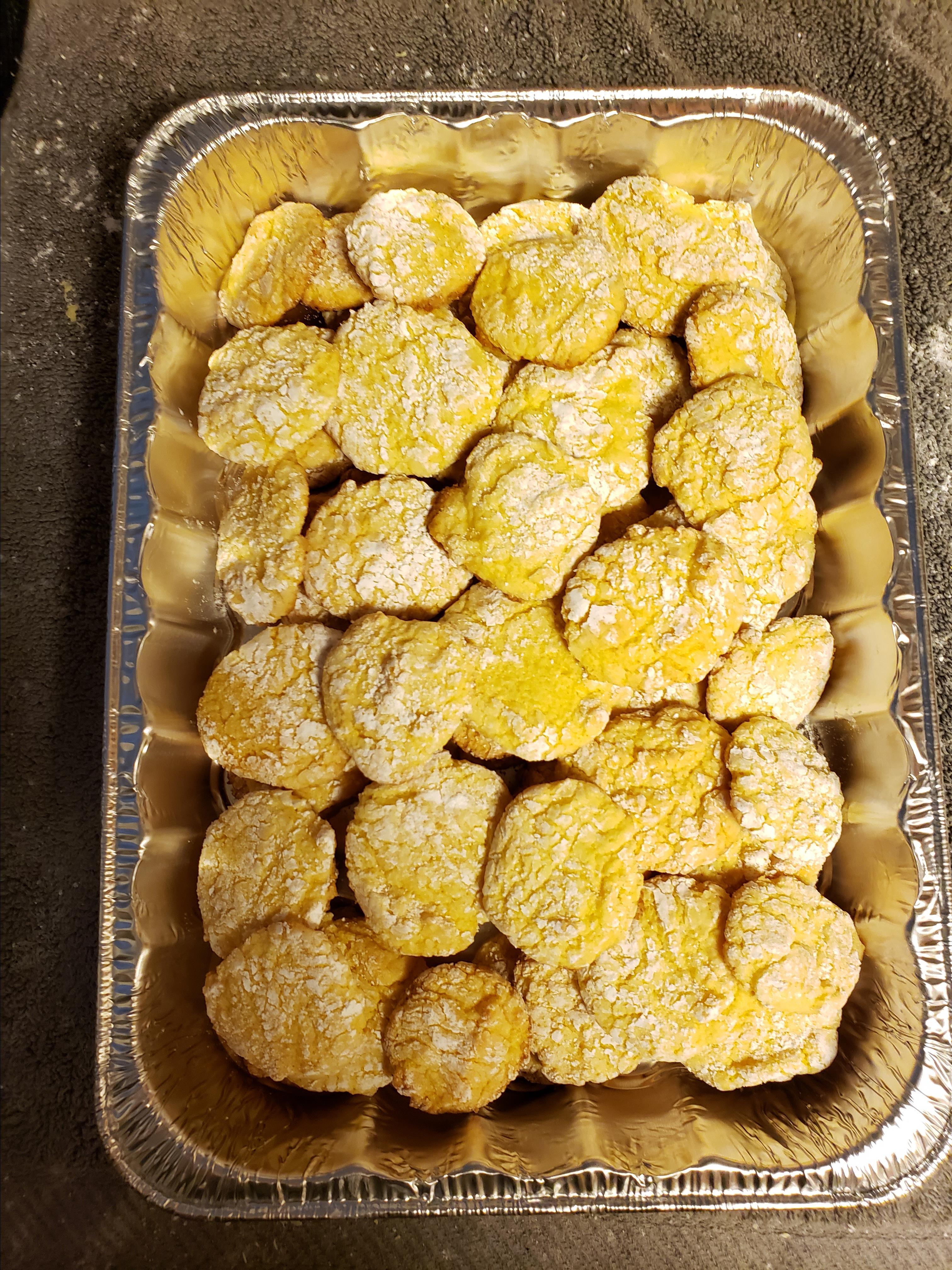 Lemon Snowflake Cookies Kirby Tucker