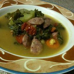 Lisa's Co-op Kale Soup sourmunky16