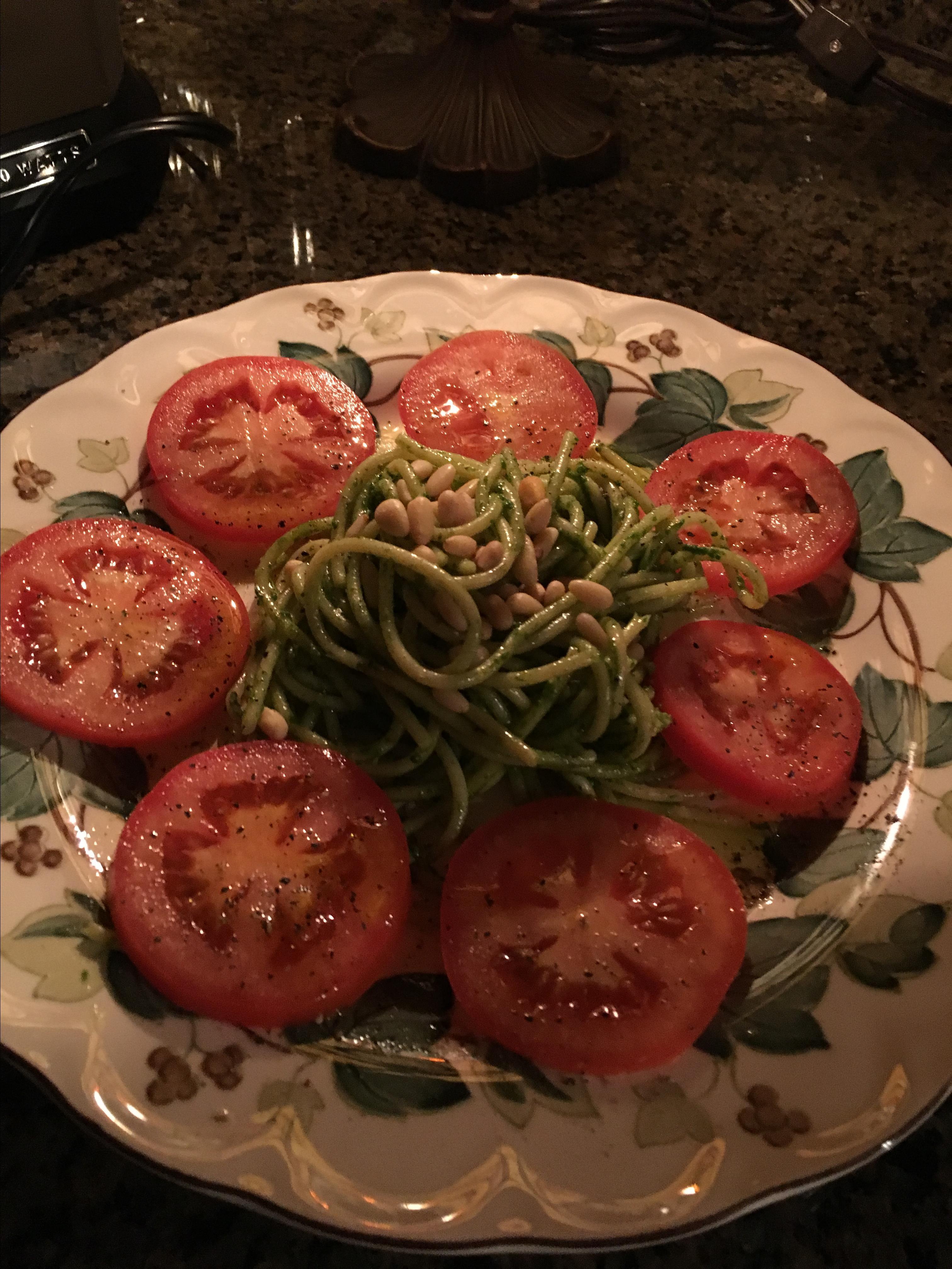 Fabulous Pesto Pasta Salad kathy