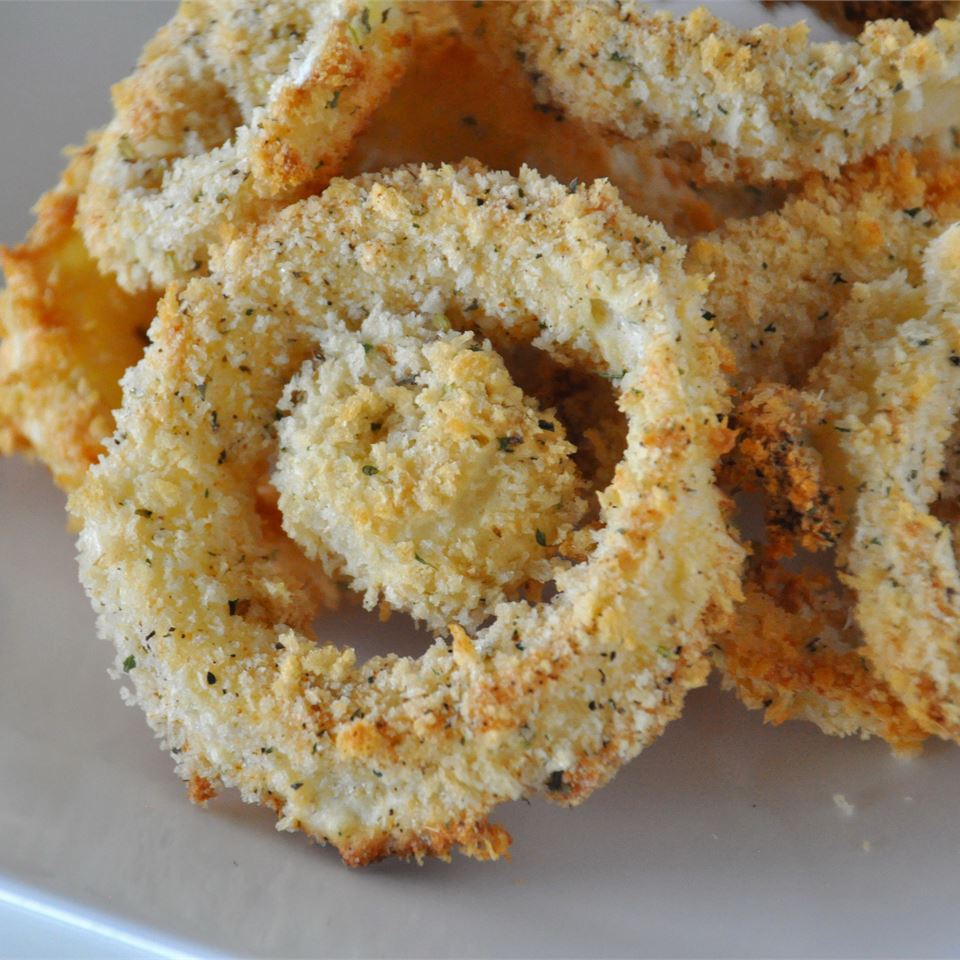Sweet Baked Onion Rings