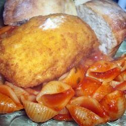 Zucchini and Shells Manda