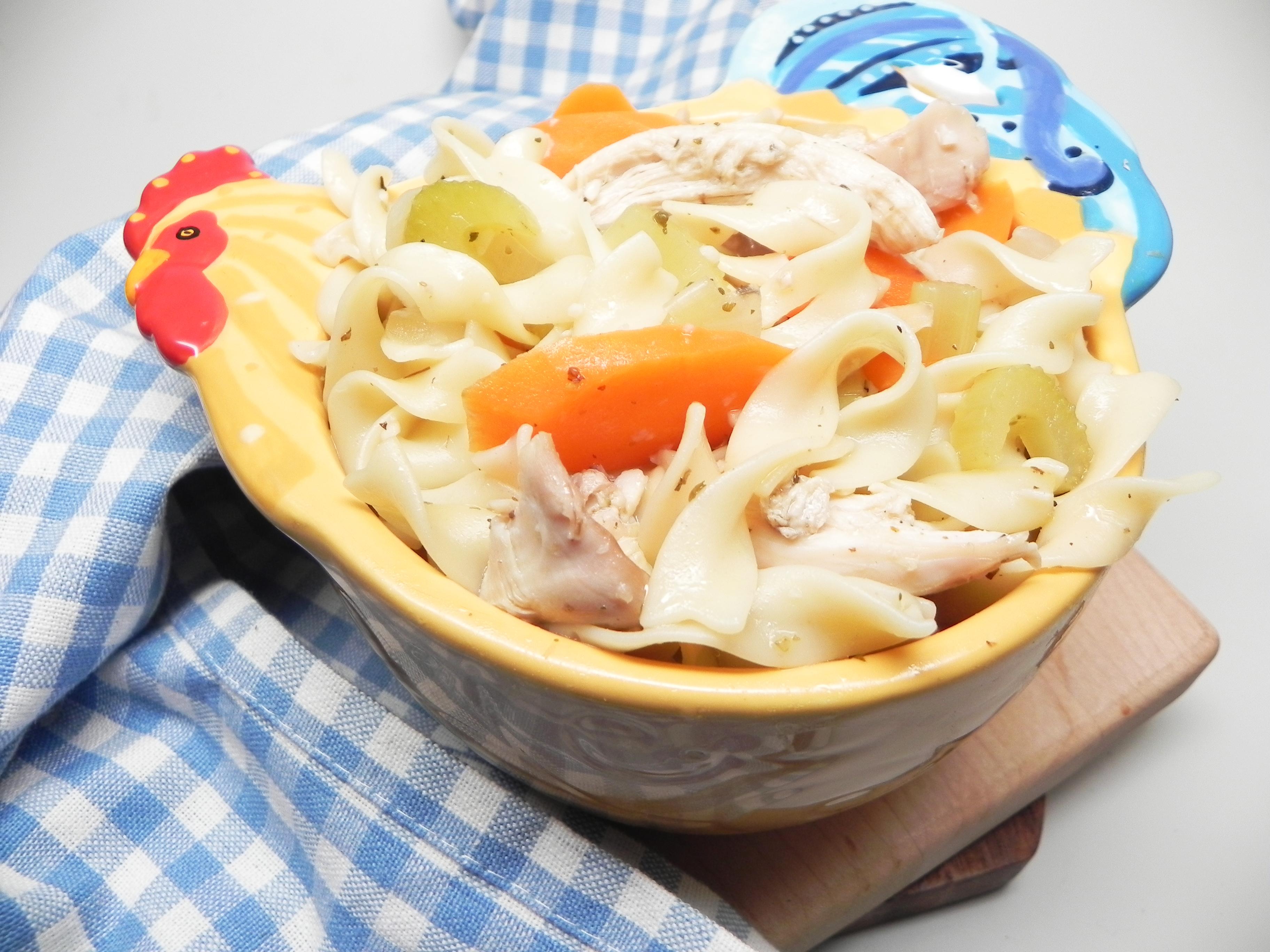 Rotisserie Chicken Noodle Soup Soup Loving Nicole