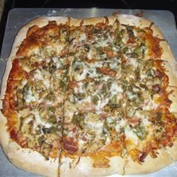 Jerk Chicken Pizza Jennifer