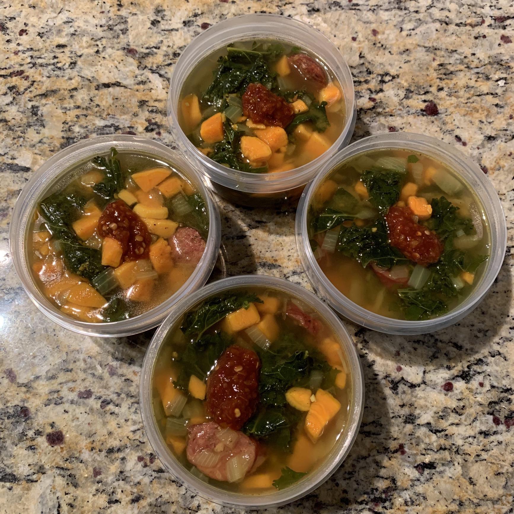 Paleo Chorizo Sweet Potato and Kale Stew Nicole Baker Jordan