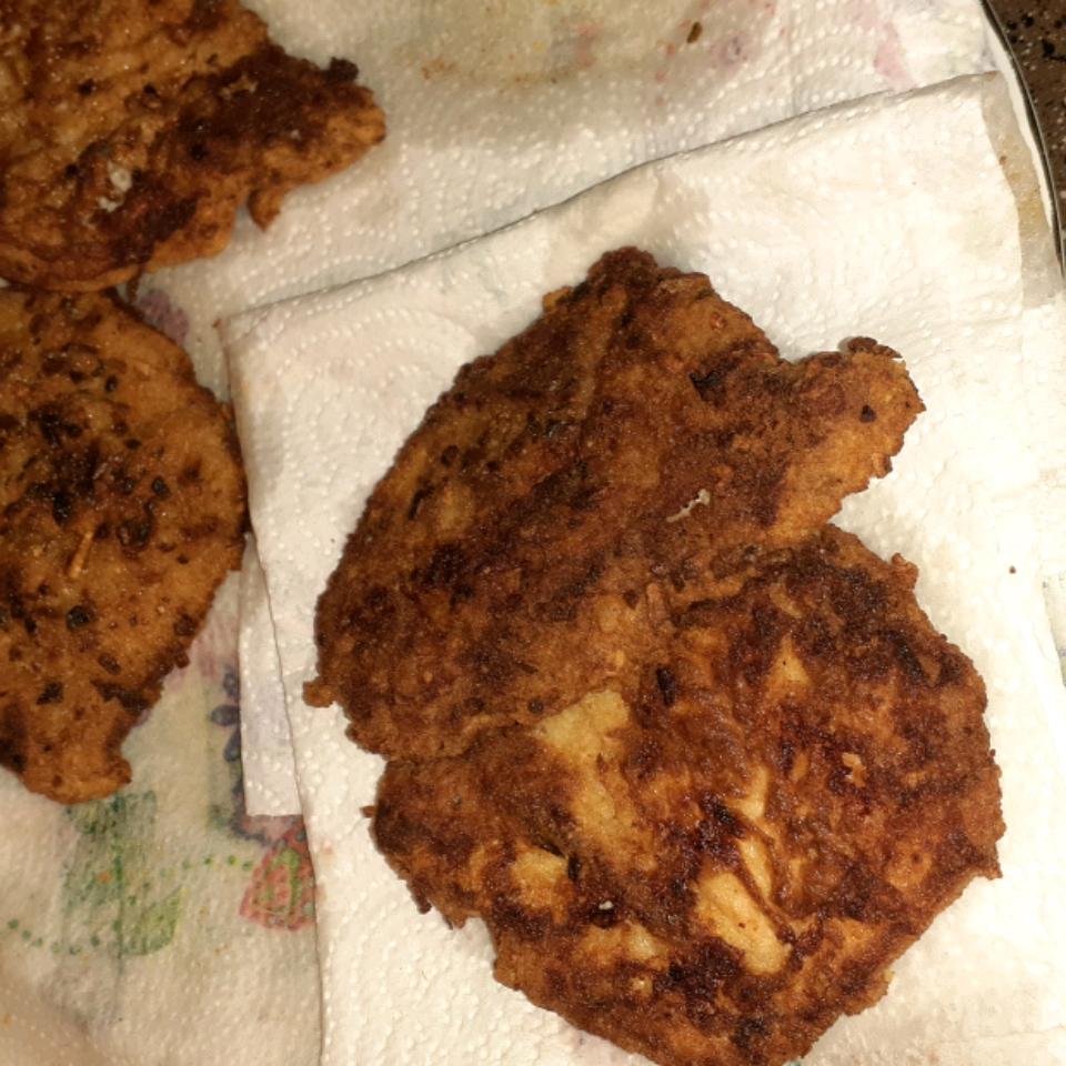 Onion Pan-Fried Pork Chops Dawn Michelle Pope
