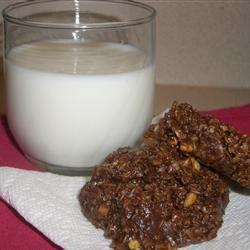 Unbaked Chocolate Oatmeal Cookies