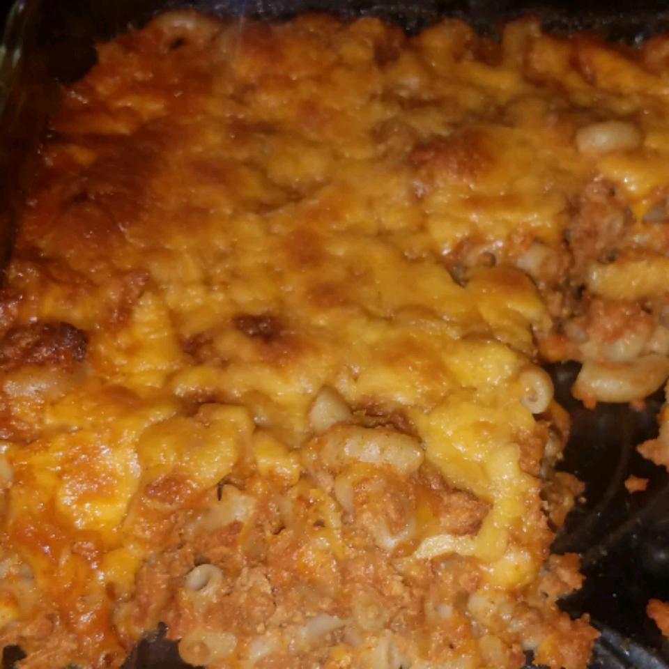 Chili Mac 'n' Cheese Bake