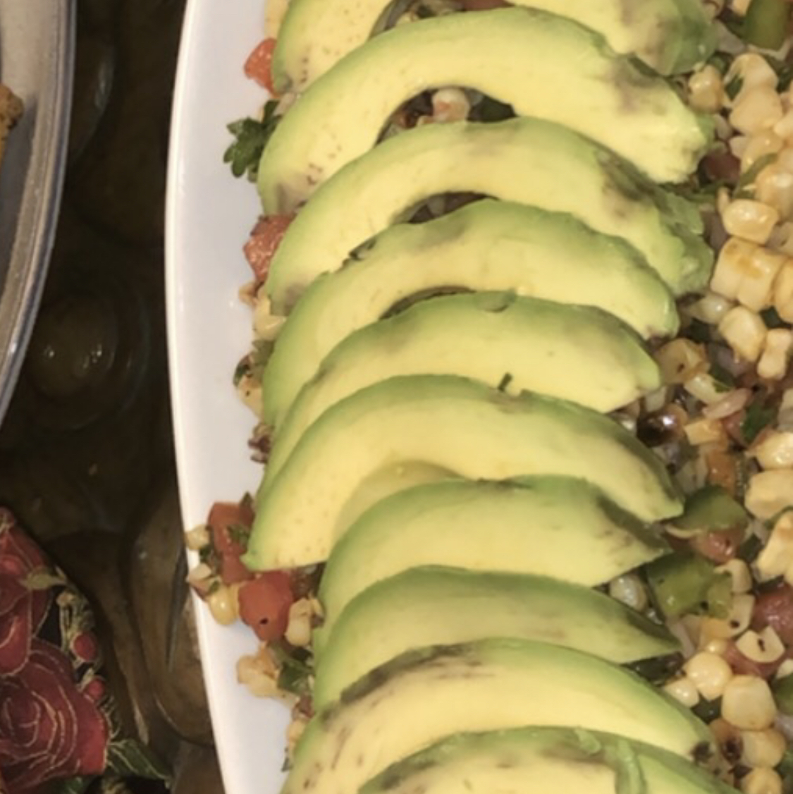Grilled Corn Salad Drue
