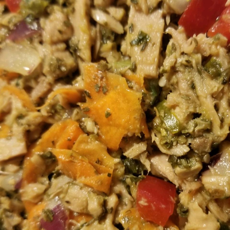 Thai Spicy Tuna Lettuce Wraps Nikii Leigh