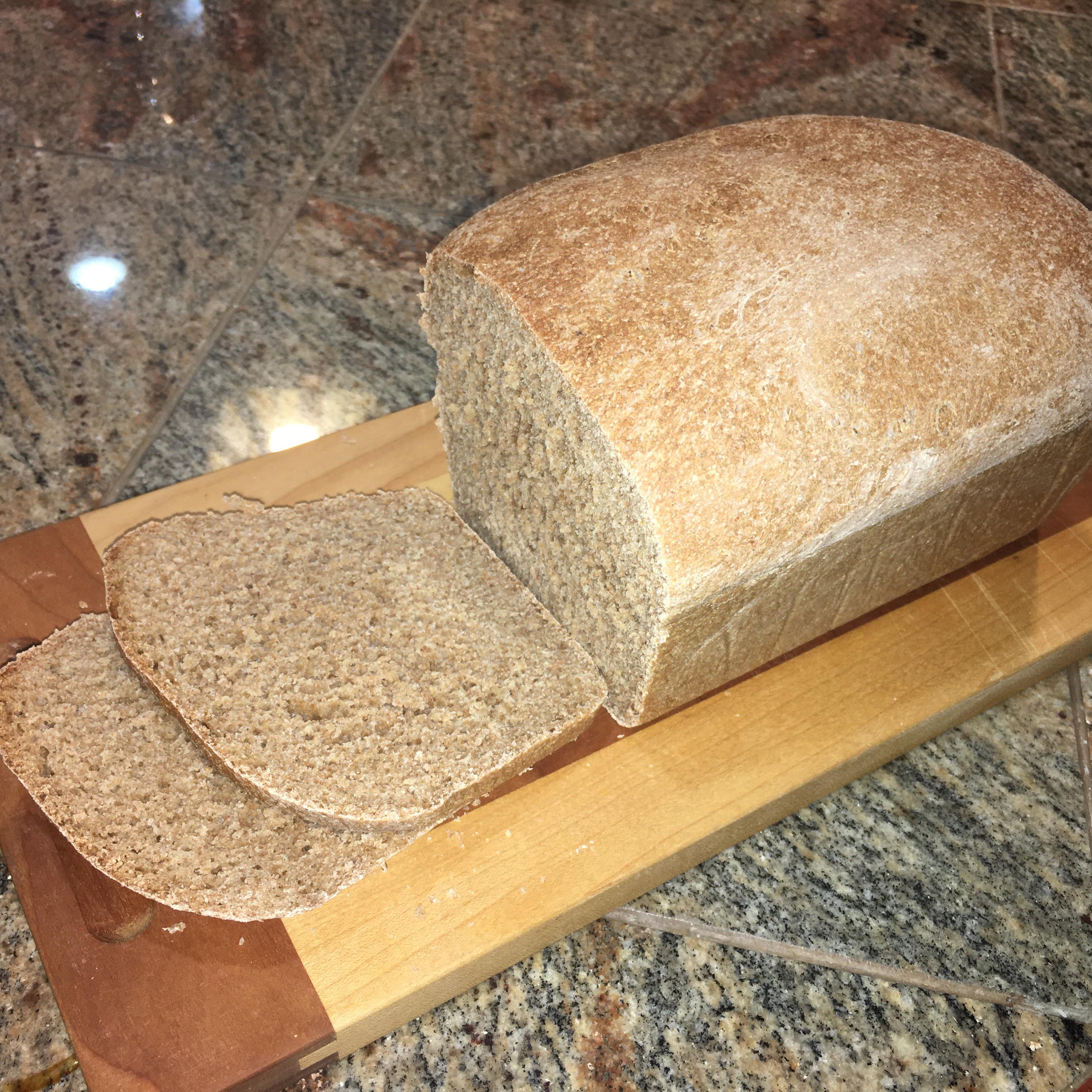 Easy 100% Whole Wheat Bread Fumphco