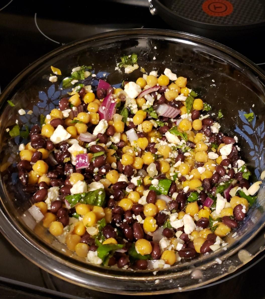 Summer Chickpea Salad Lisa