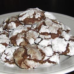 Brown Sugar Chocolate Crackle Cookies Java_Girl