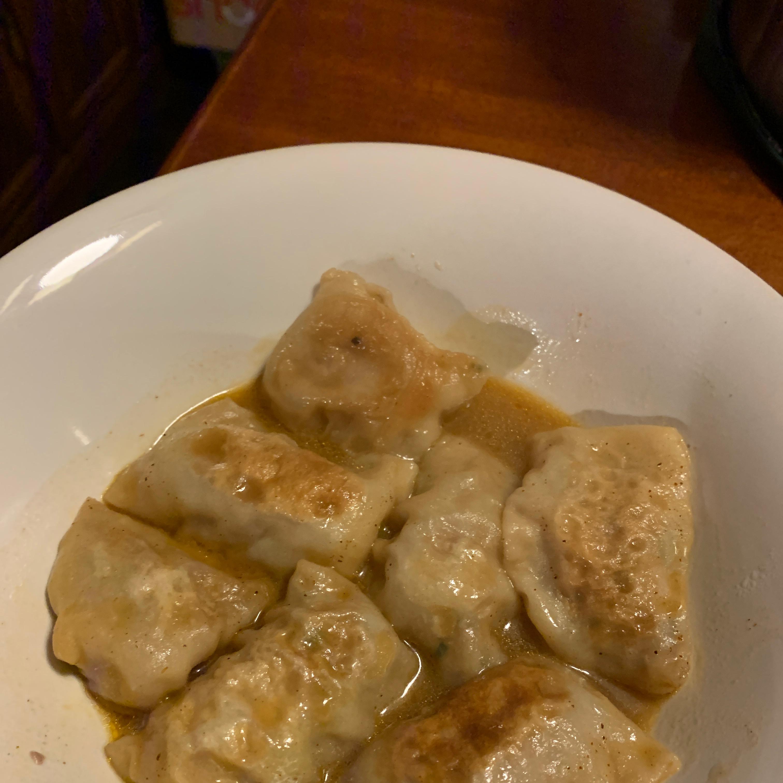 Lazy Pork Dumplings