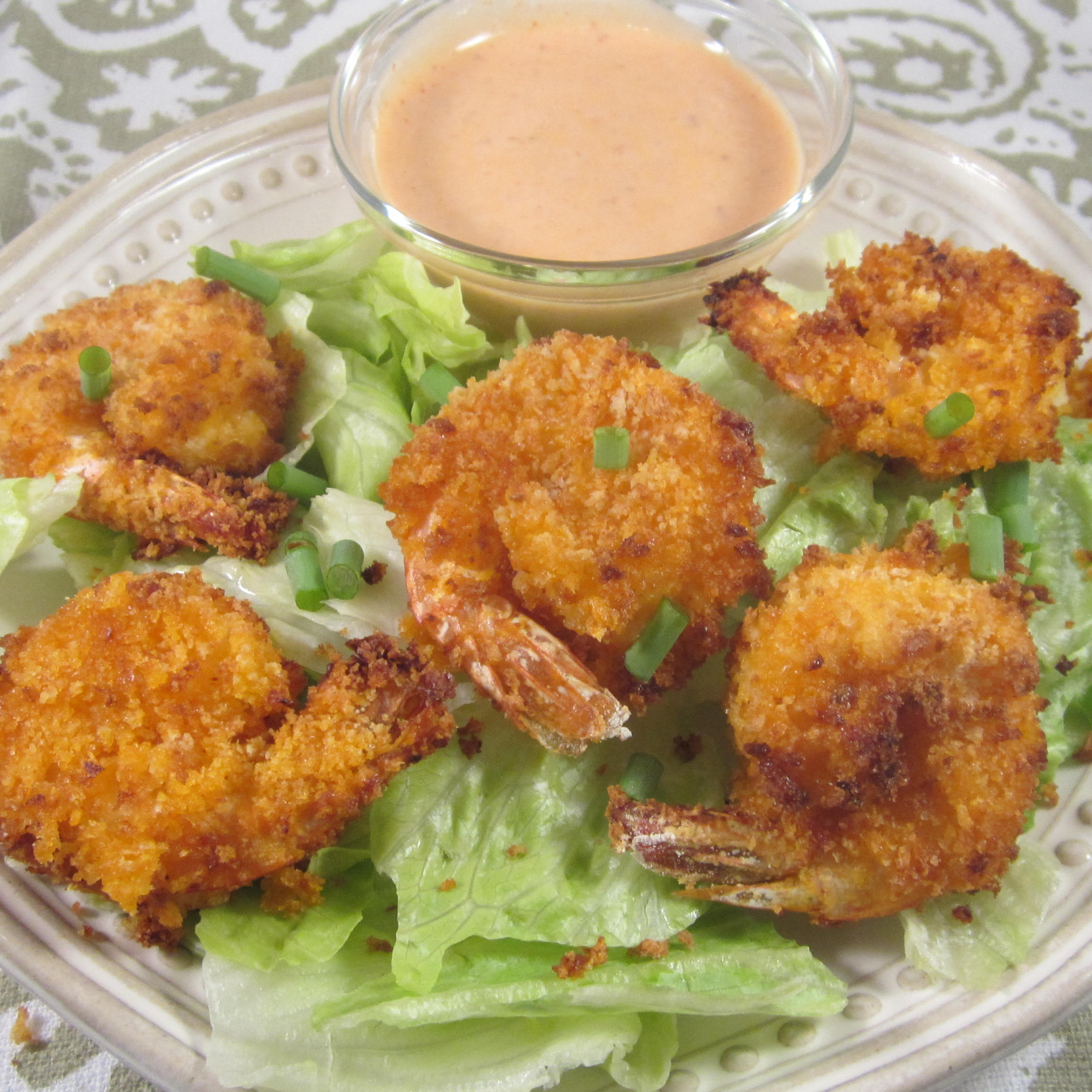 Air Fryer Shrimp a la Bang Bang