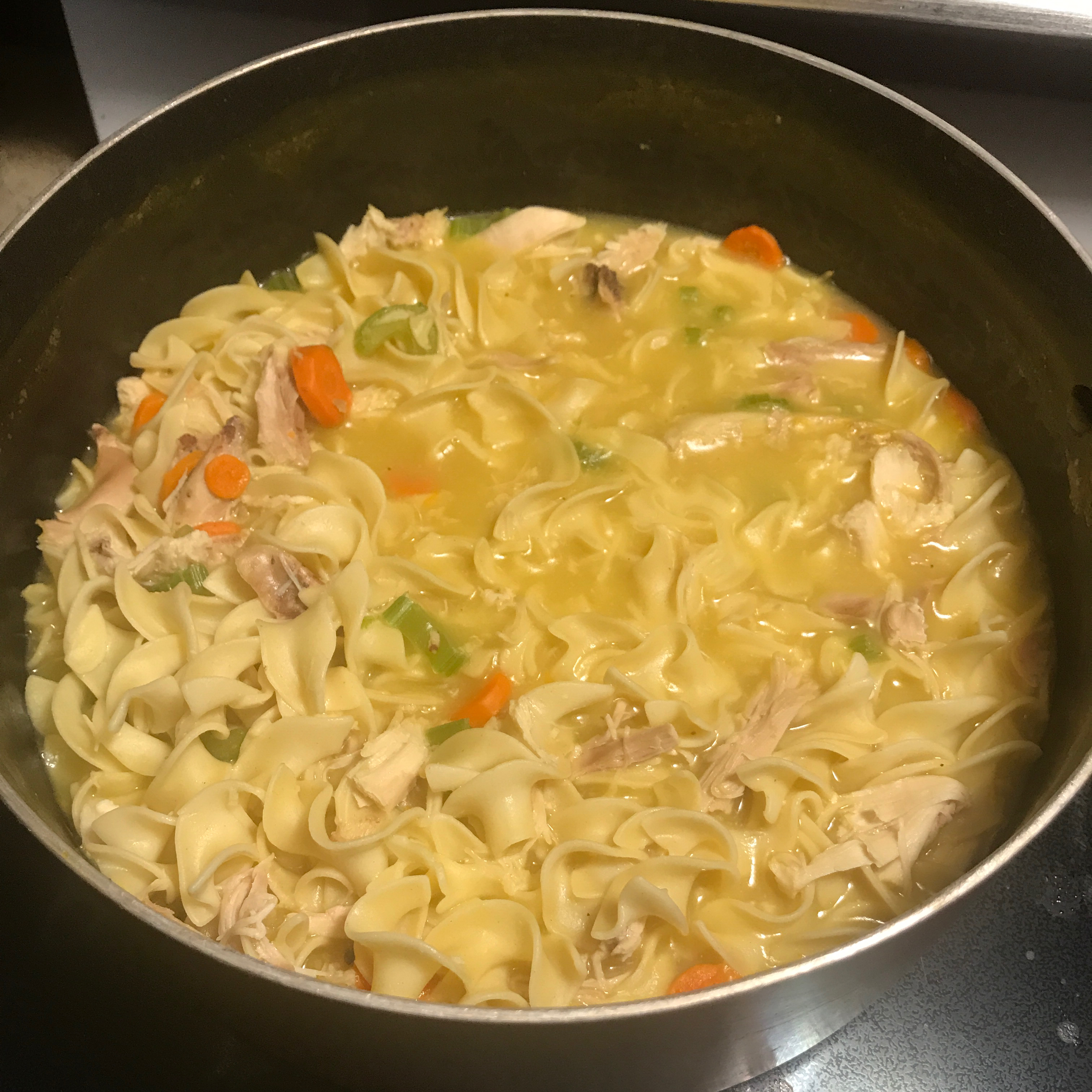 Super Easy Chicken Noodle Soup Jessica Kuether Martinson