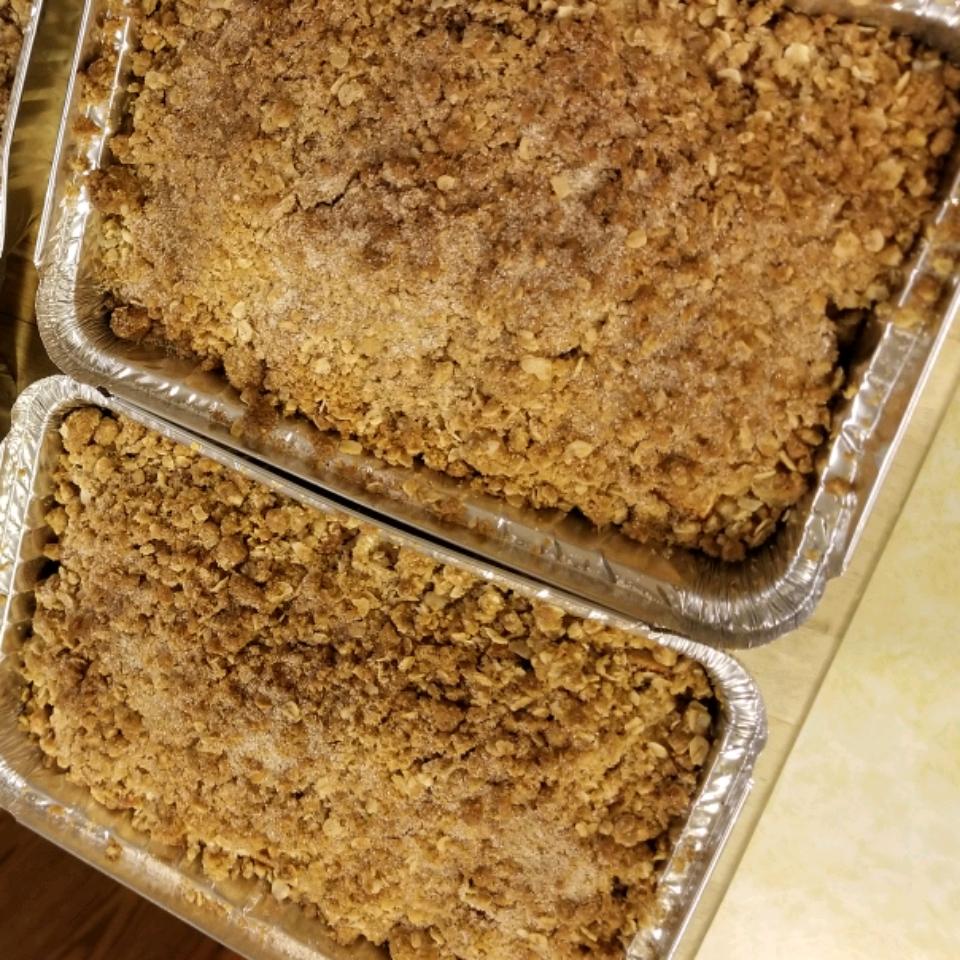 Apple Oatmeal Crisp