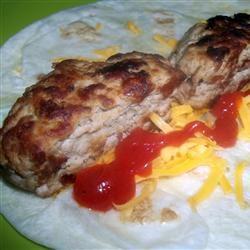 Mom's Turkey Sausage Patties Manda