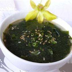 This Korean-style seaweed soup (or miyeok guk) is sometimes referred to as Korean birthday soup because many Koreans consume this on their birthdays. It is touted for its many traditional health benefits and often eaten by new mothers to help support recovery and breast milk production.