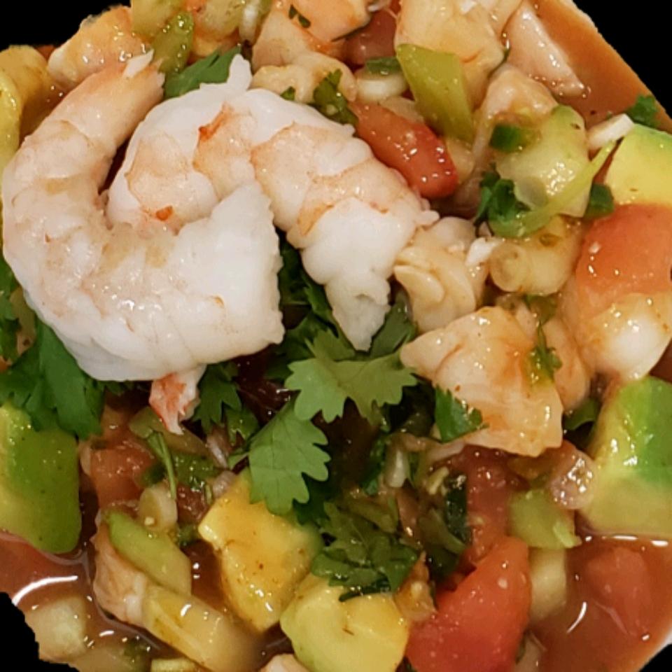 Mexican-Style Shrimp Cocktail lonestaroftejas