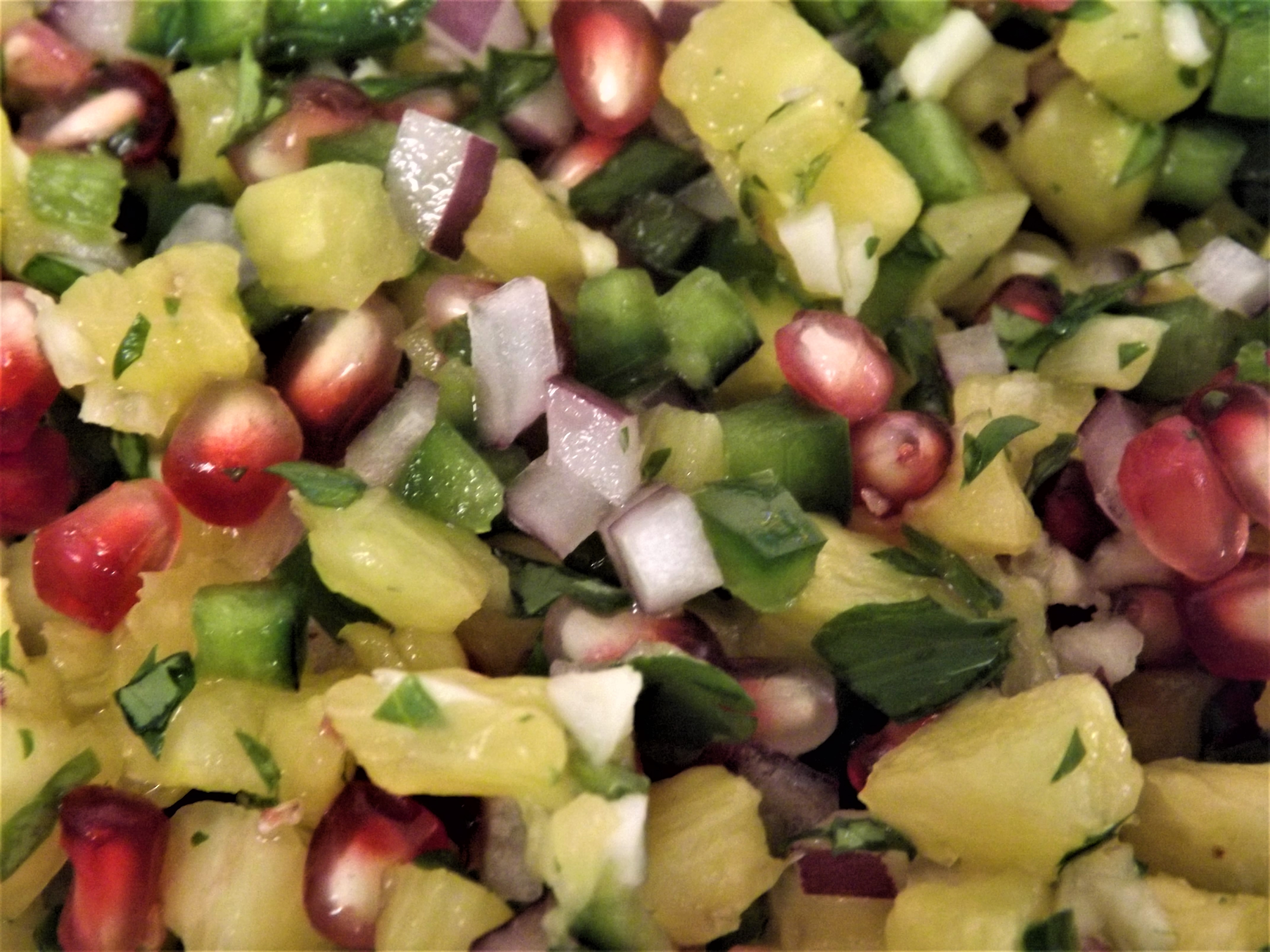 Fresh Pineapple Salsa Autumneyes