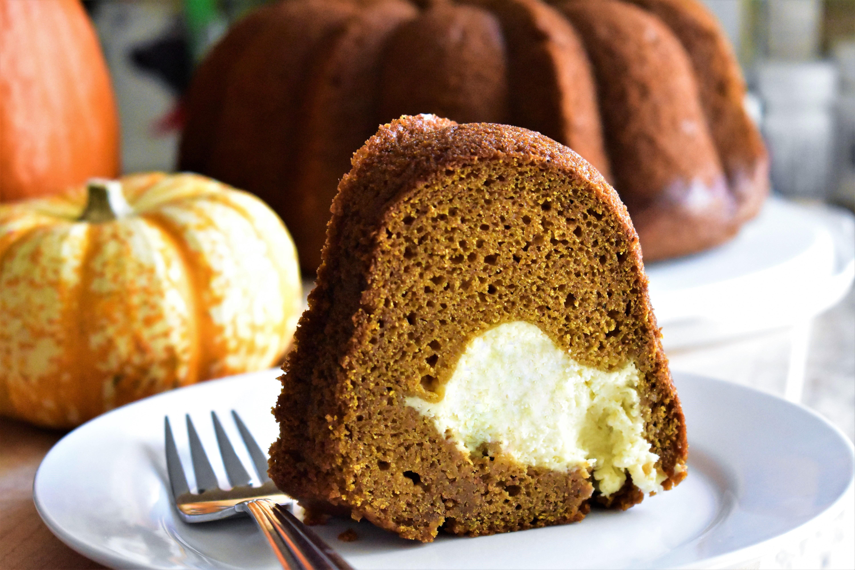 Pumpkin-Cream Cheese Bundt® Cake
