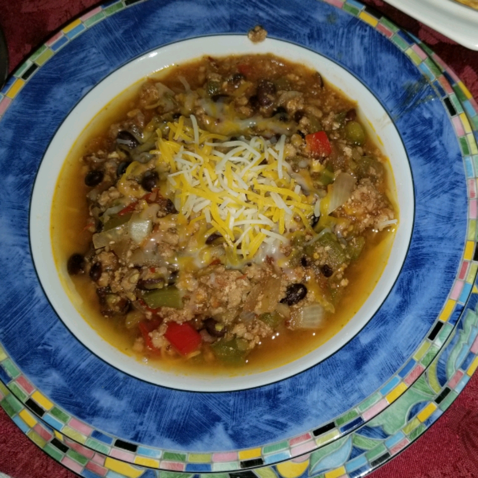 Waistline-Friendly Turkey Chili