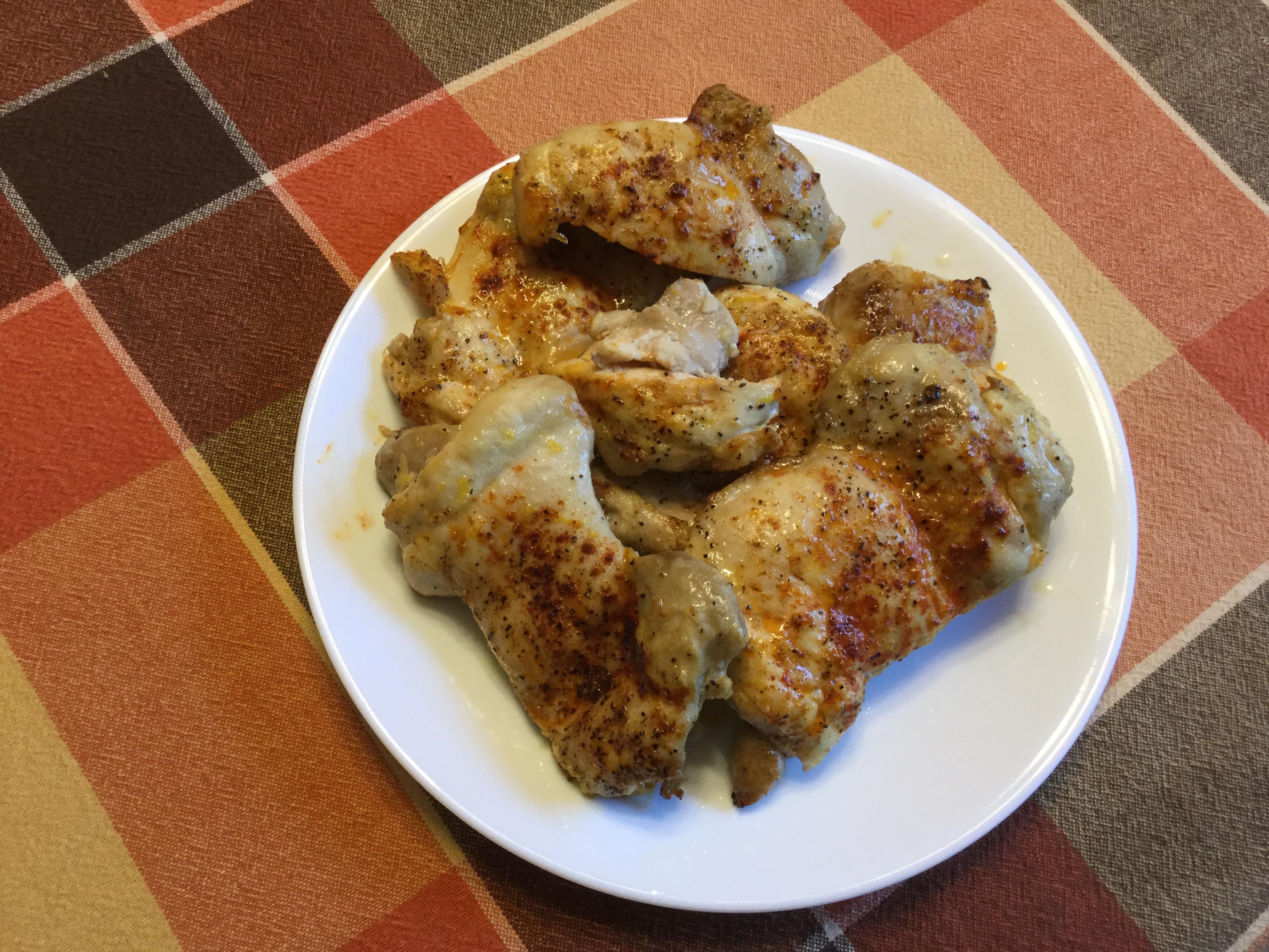 Lemon Grilled Chicken Thighs manella