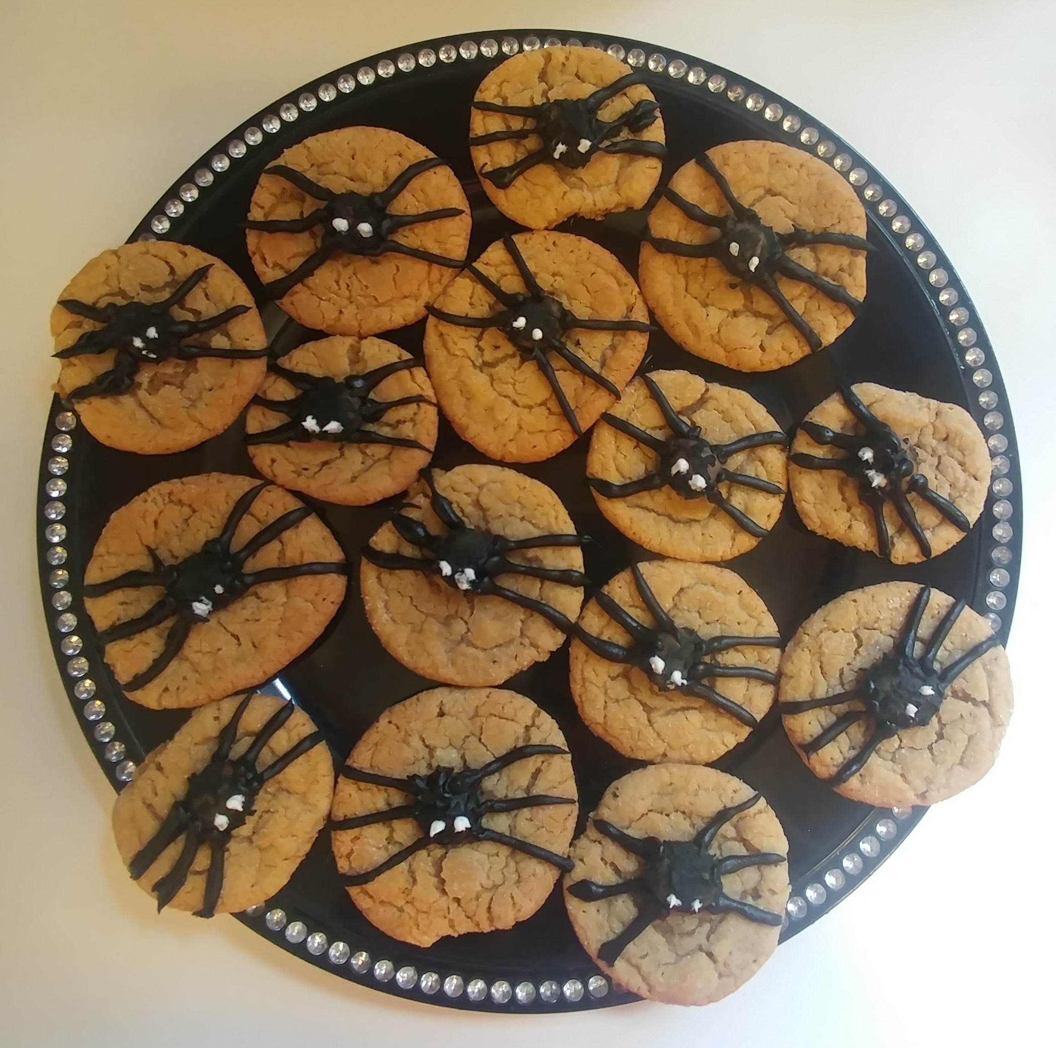 Peanut Butter Spider Cookies Serena Lynn Holt