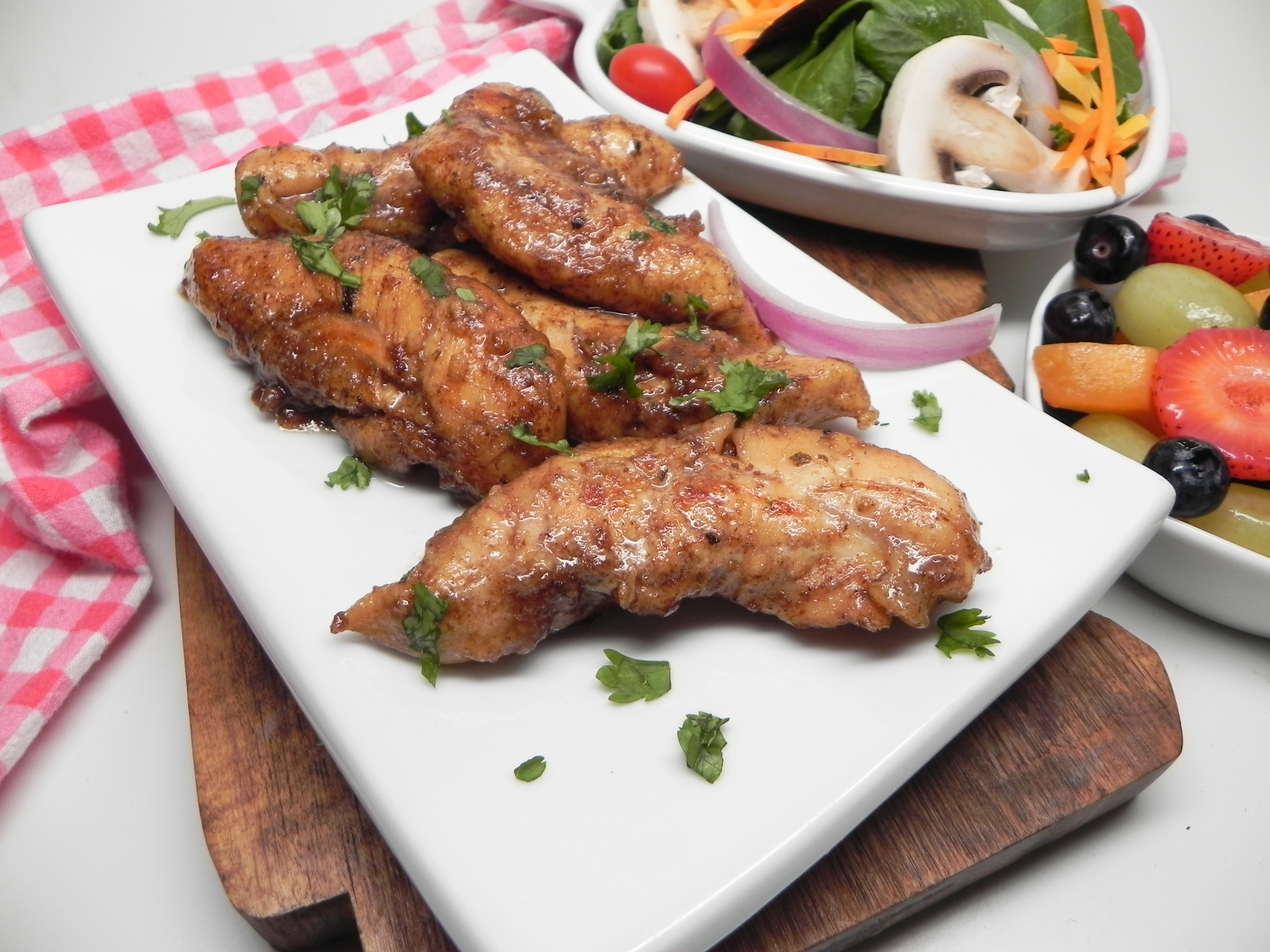 Skillet Balsamic-Glazed Chicken