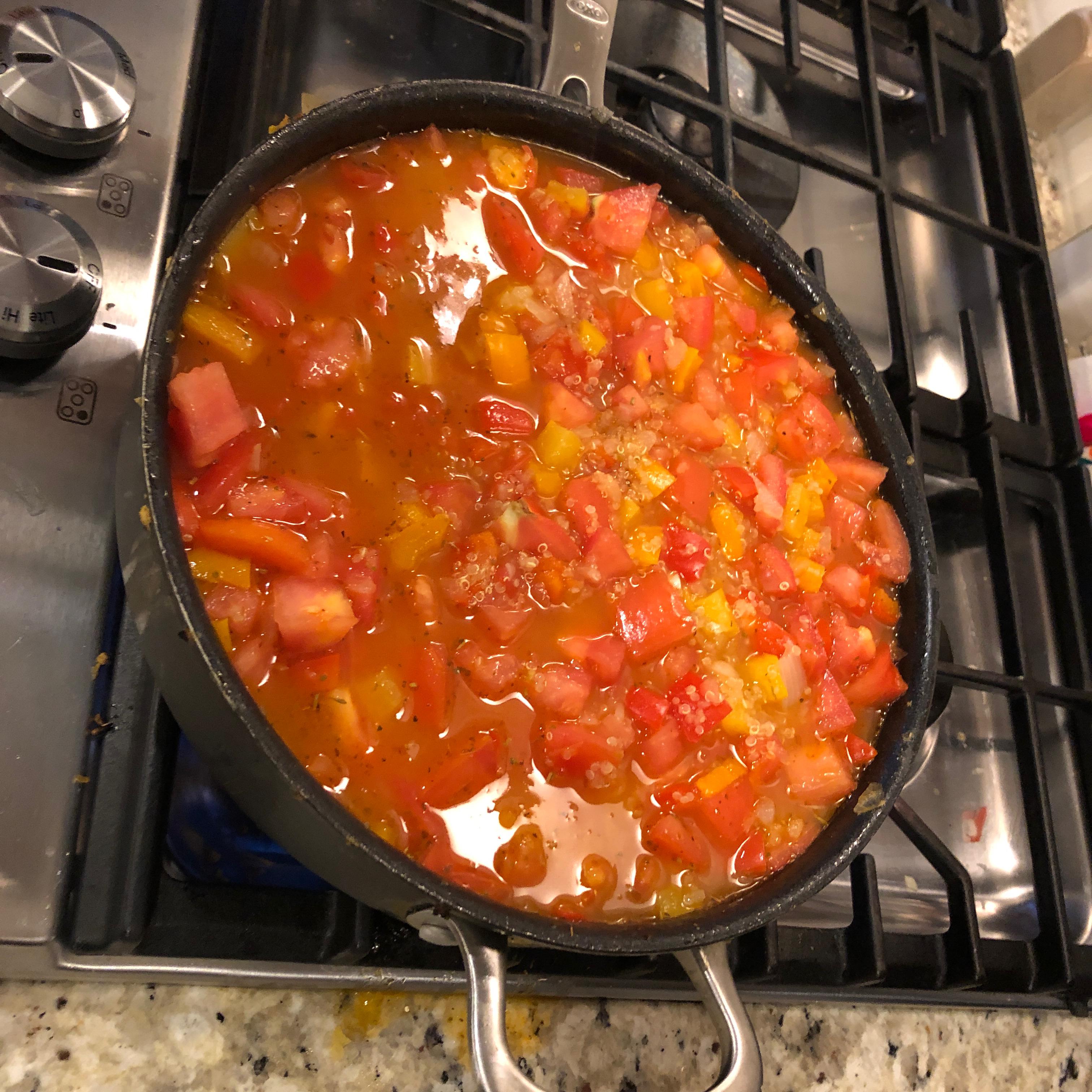 Mediterranean Quinoa Todd Steiger