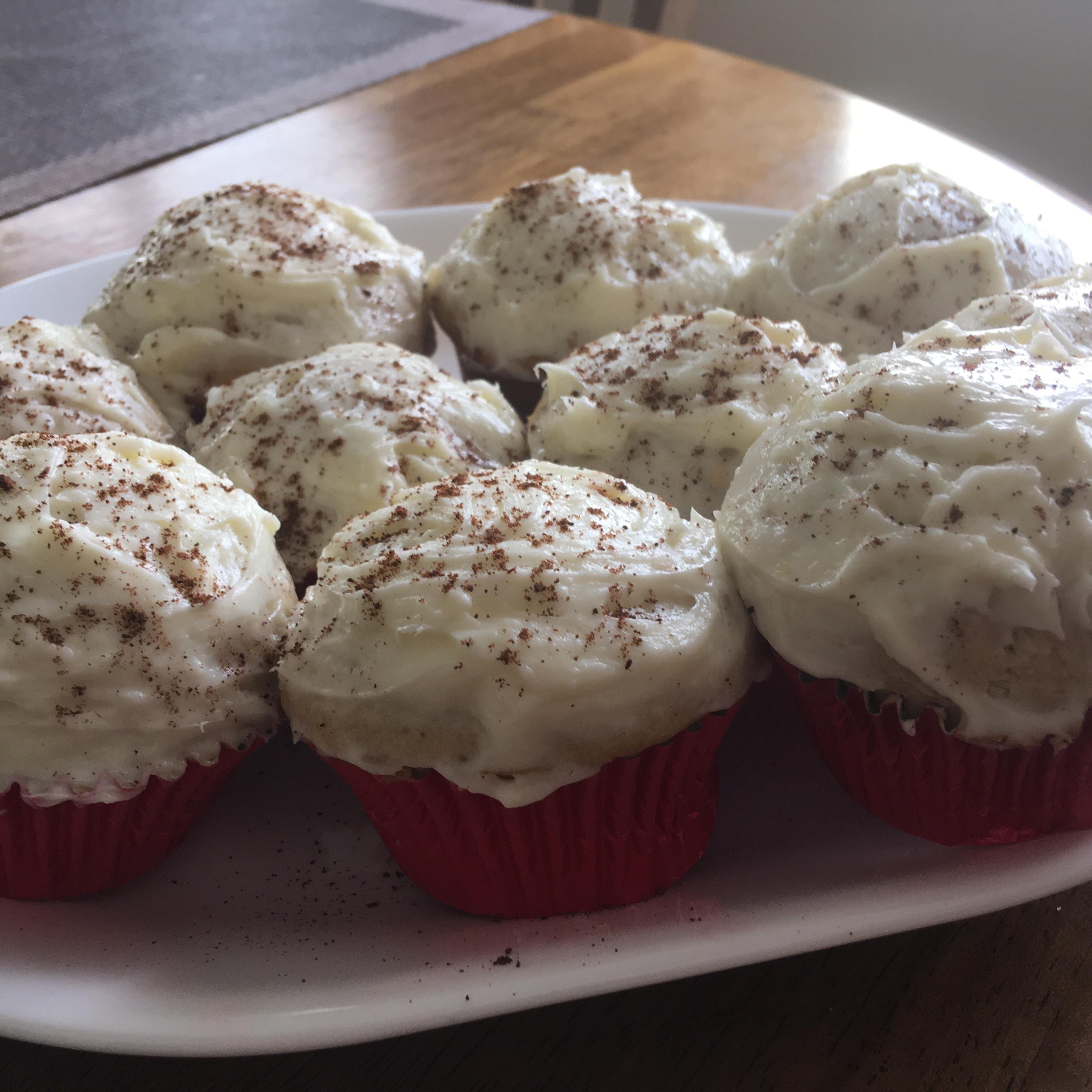 Pumpkin Spice Cupcakes FourKskitchen