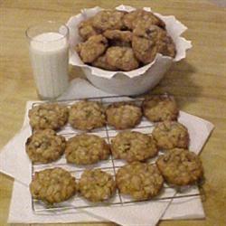 Vanishing Chocolate Oatmeal Cookies furusob