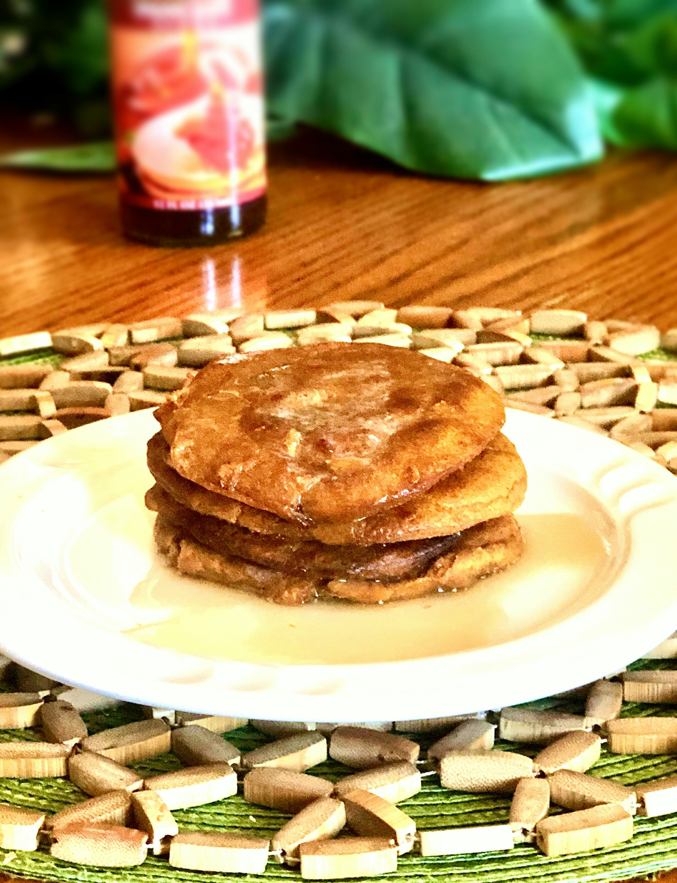 Air Fryer Keto Pumpkin Pancakes
