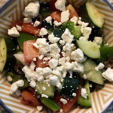 Greek Salad Iii Recipe Allrecipes