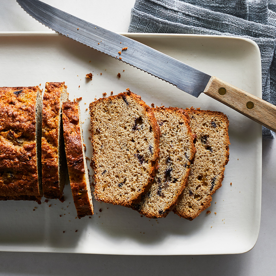 Sweet, soft and figgy, this quick bread is reminiscent of a Fig Newton cookie. If you happen to have an abundance of figs, this fig bread recipe is a delicious, creative way to use them up. And just as too-ripe bananas make the best banana bread, very ripe figs are ideal here. Source: EatingWell.com, October 2019