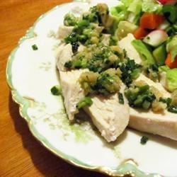 Chicken with Ginger Pesto Kelly Joy