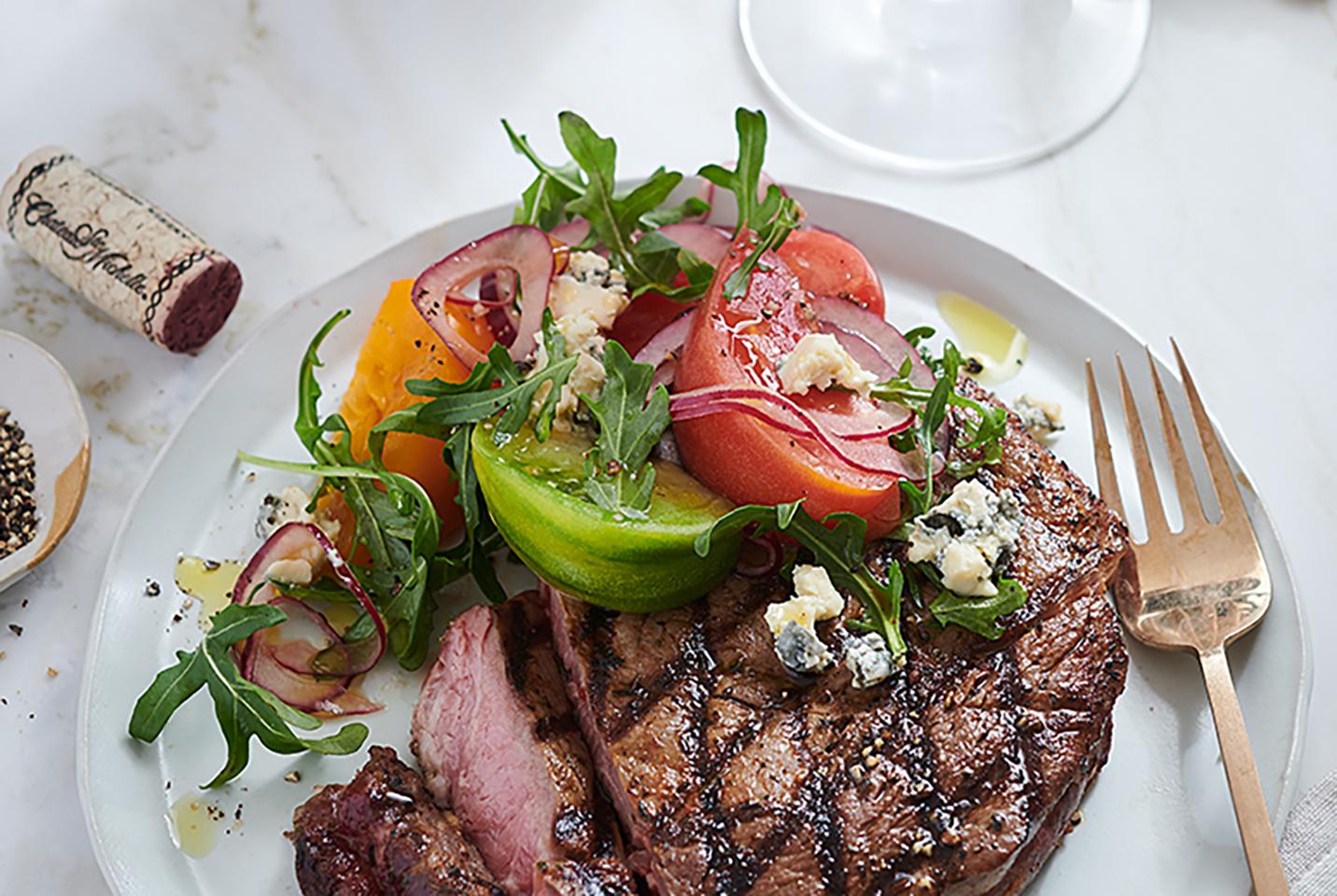 Grilled Tuscan Rib Steak