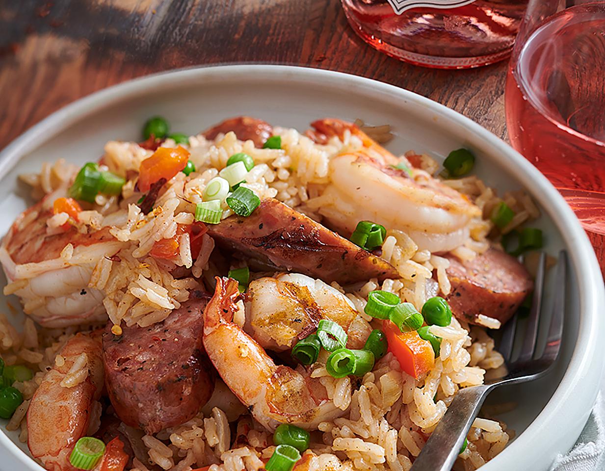 Cajun-Style Rice Pilaf