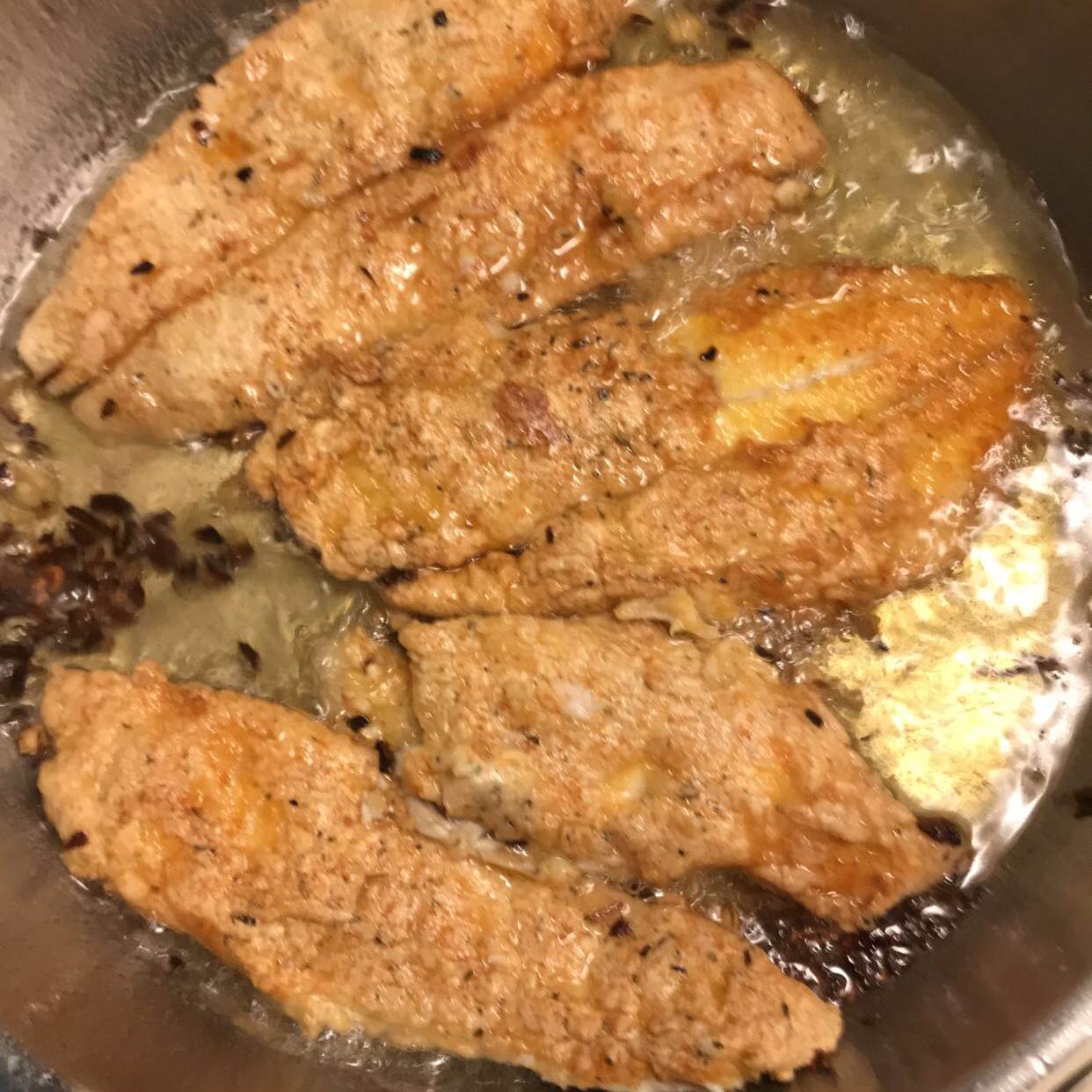 Marinated Fried Fish Kim
