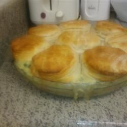 Mom's Fabulous Chicken Pot Pie with Biscuit Crust meaganw419
