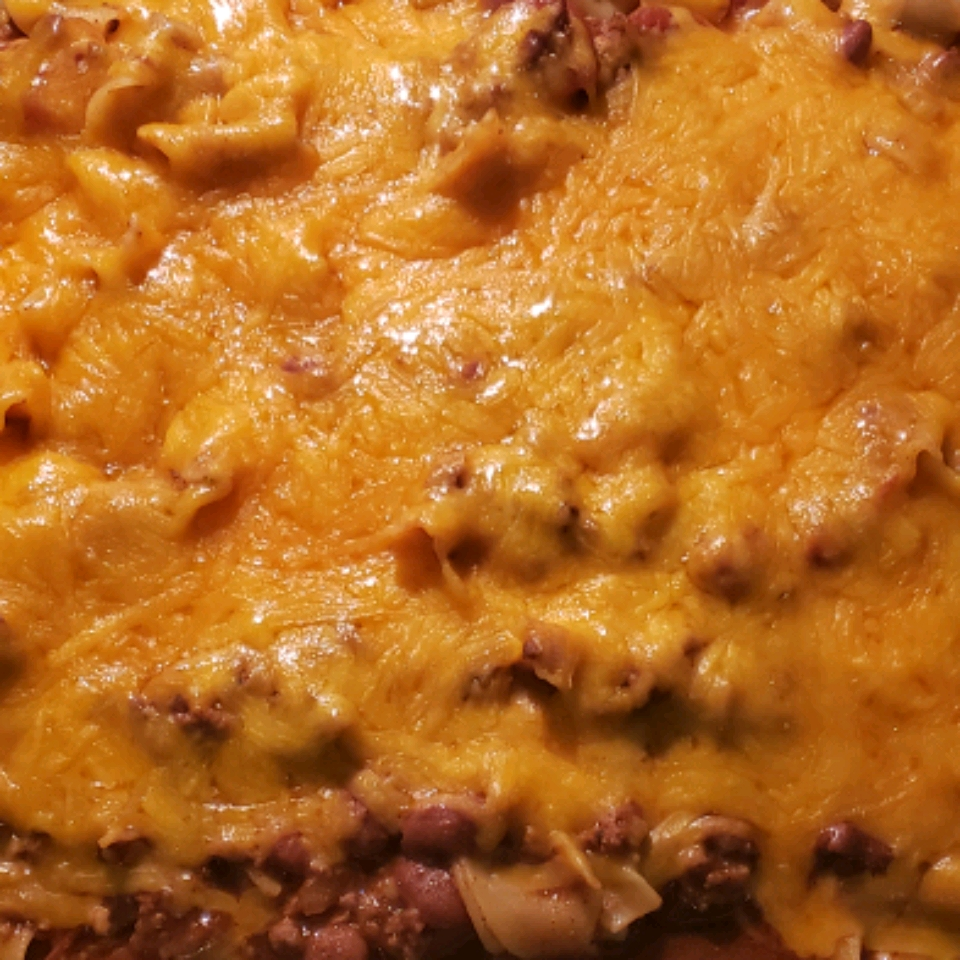 Chili Casserole with Egg Noodles Bill Brand