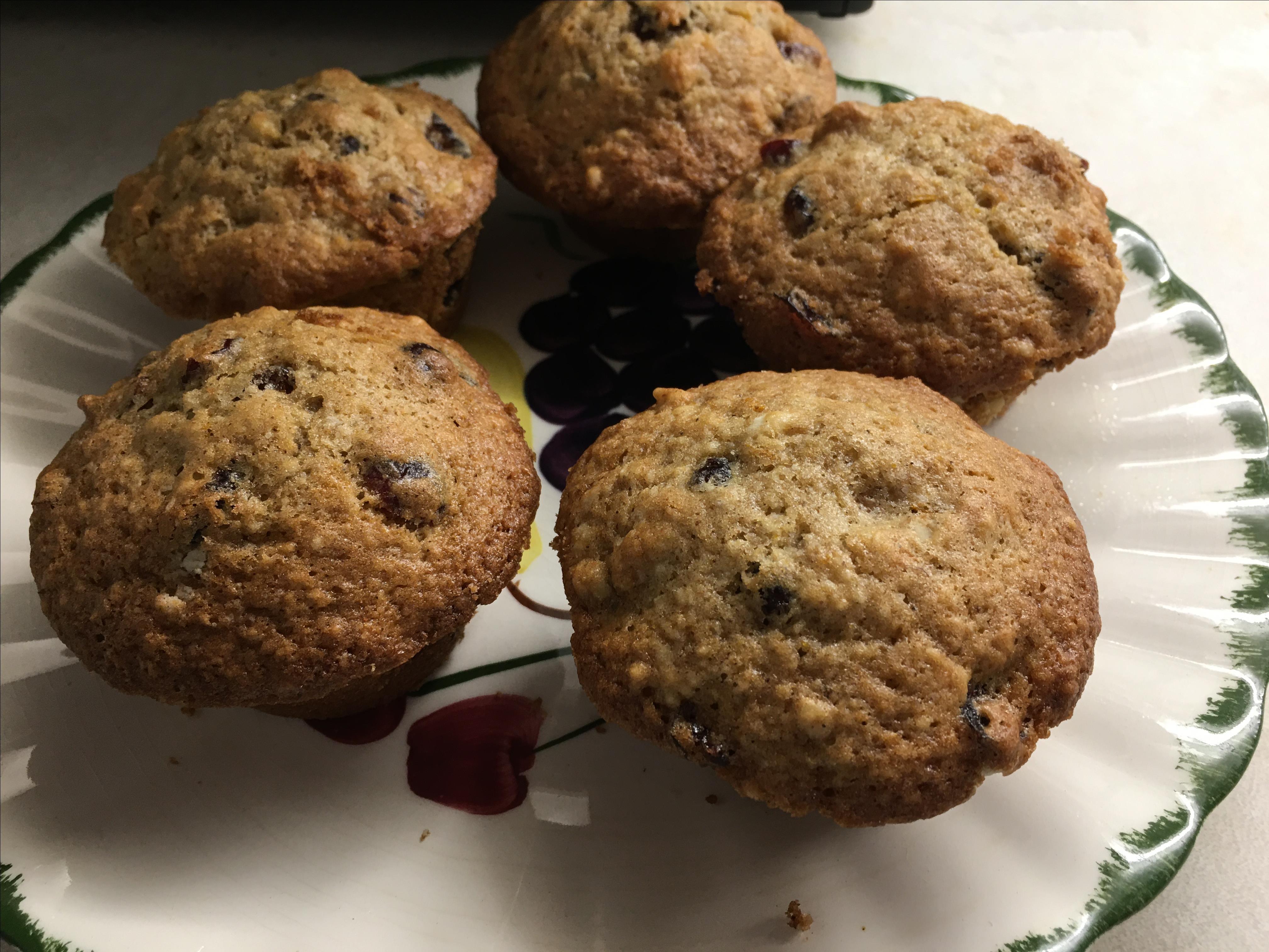 Fresh Cranberry Muffins Heather Queen