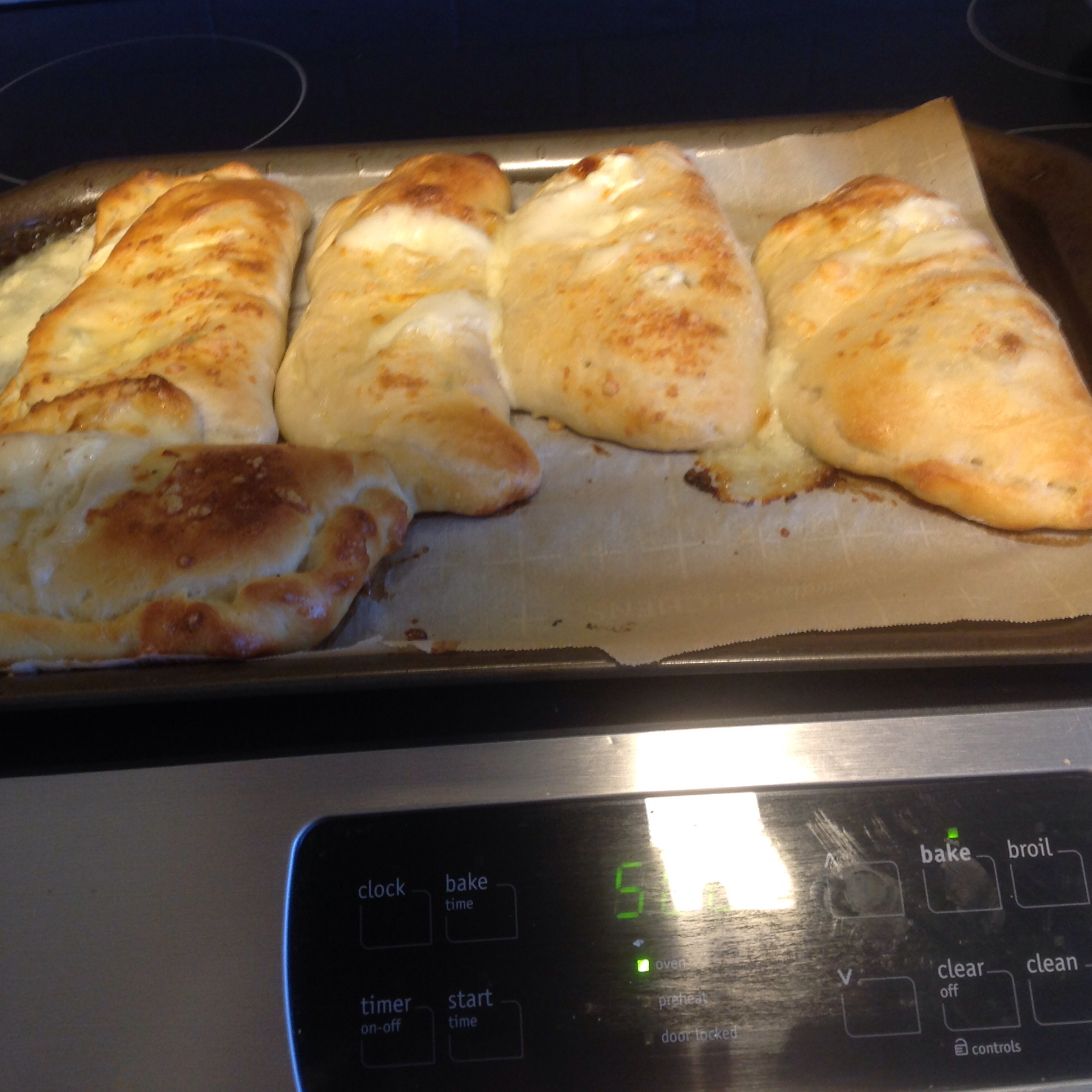 Chef John's Ham and Cheese Calzones Lynn Jacobs Rosenthal