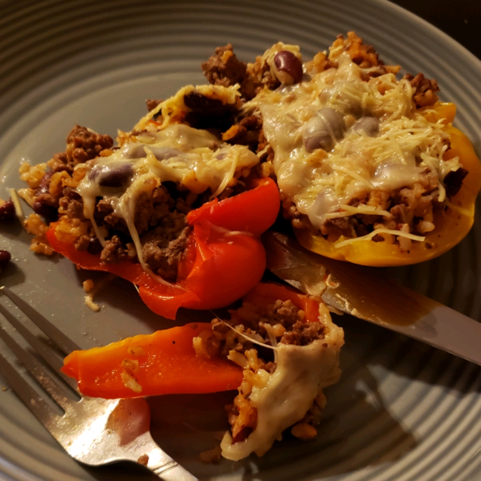 Quick and Easy Stuffed Peppers NewFoodie