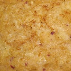 Mashed Root Vegetable Casserole with Caramelized Onions ROYSAPER