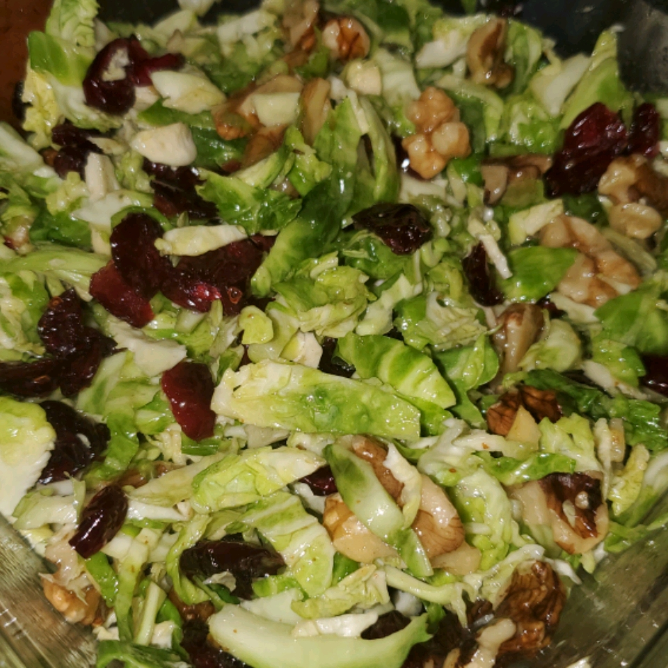 Brussels Sprout Slaw Tara