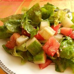 Lebanese Rubbed Salad Holiday Baker