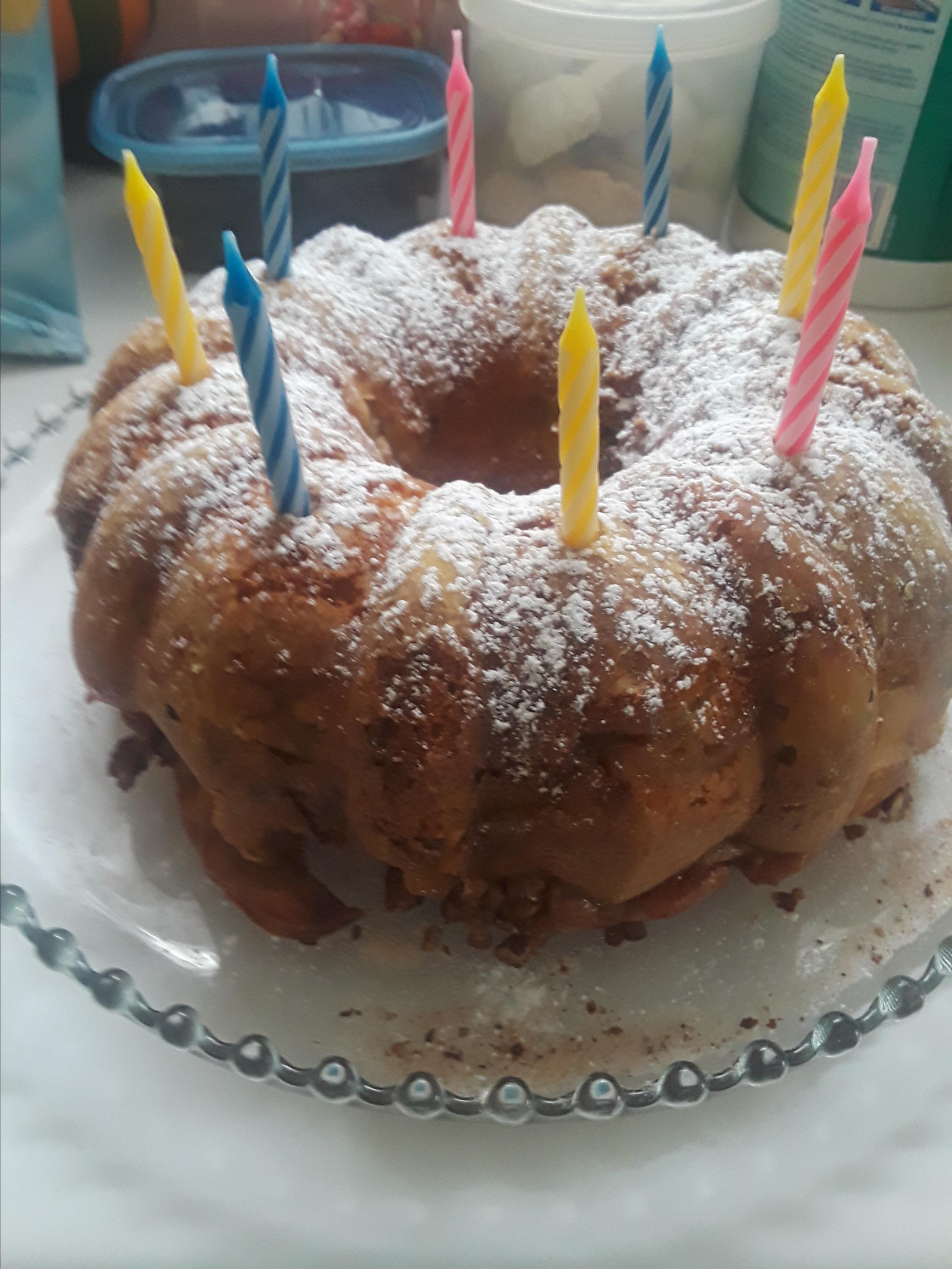 Easy Apple Coffee Cake Sue L