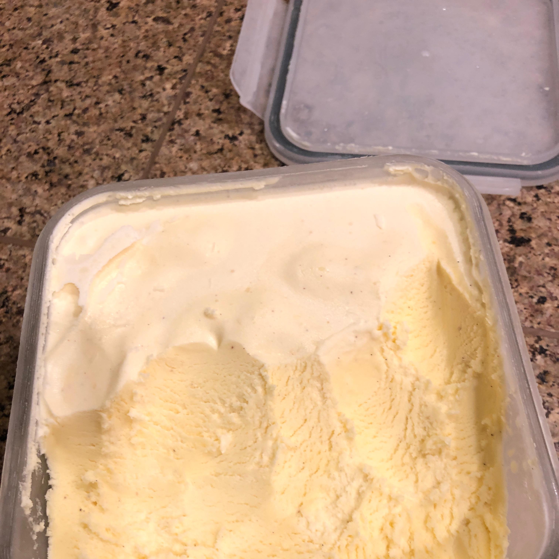Frozen Vanilla Custard